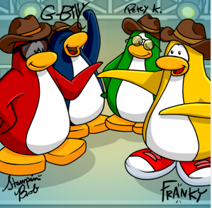 Club Penguin Art Gallery Club-penguin-band-new-background