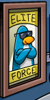 blue-penguin-poster