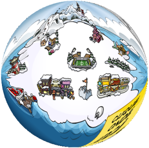 club-penguin-globe