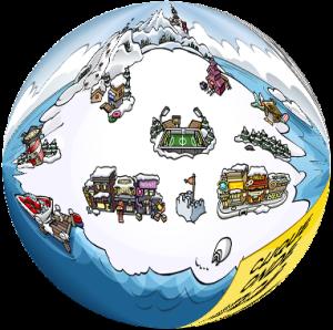 club-penguin-globe