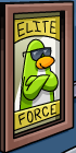 green-penguin-poster